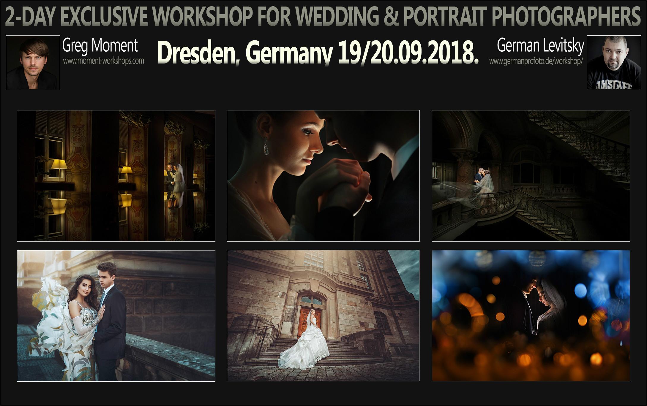 Dresden, Germany - 19/20.09.2018. with German Levitsky