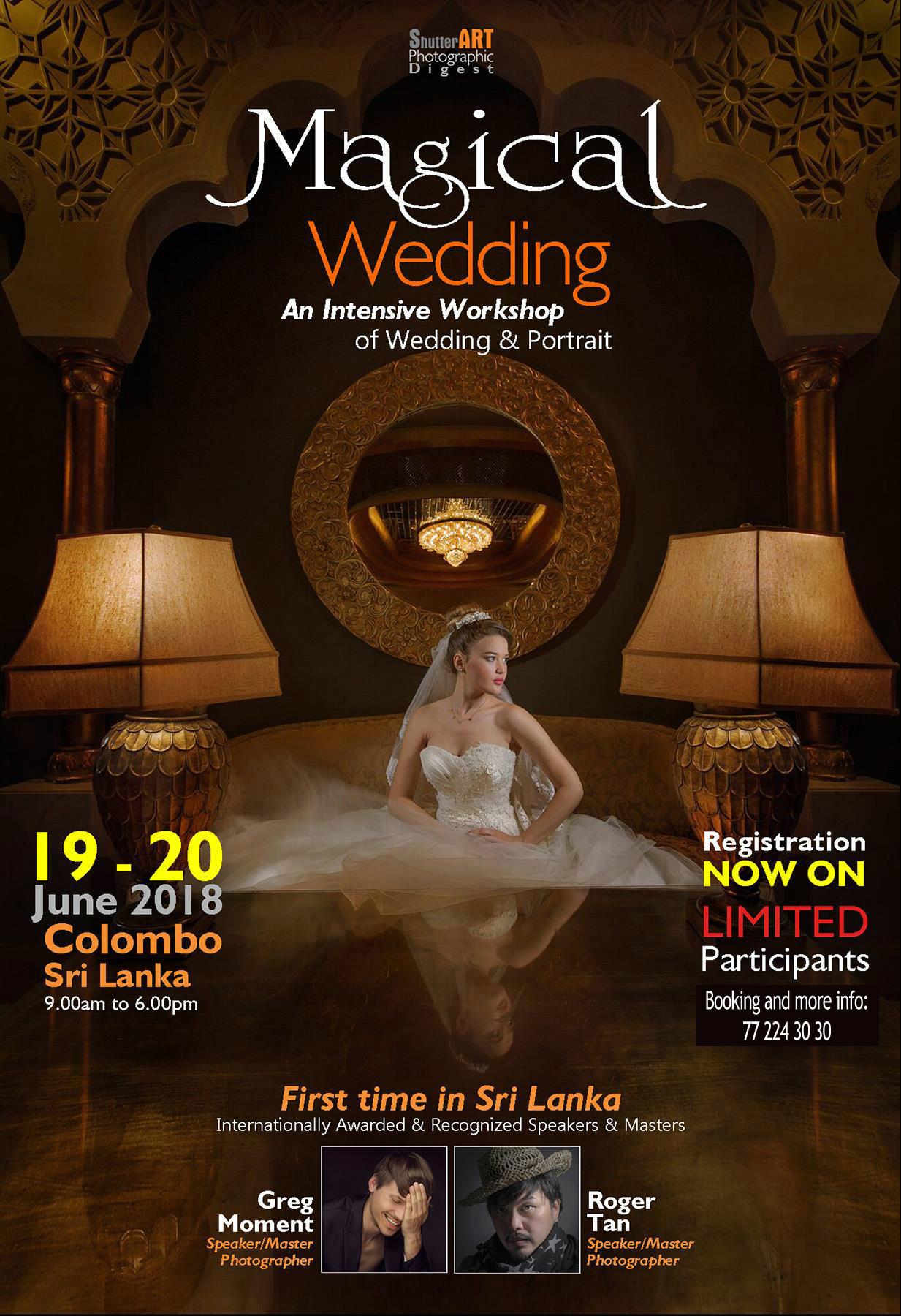 Colombo, Sri Lanka - 19/20.06.2018. with Roger Tan