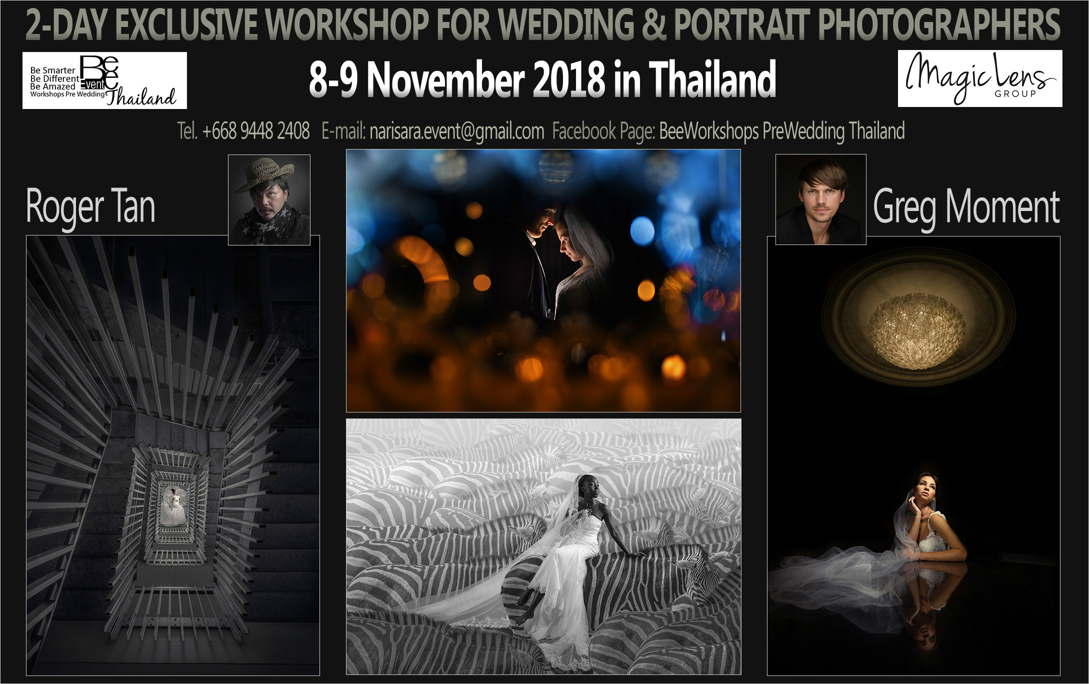 Thailand - 08/09.11.2018. with Roger Tan