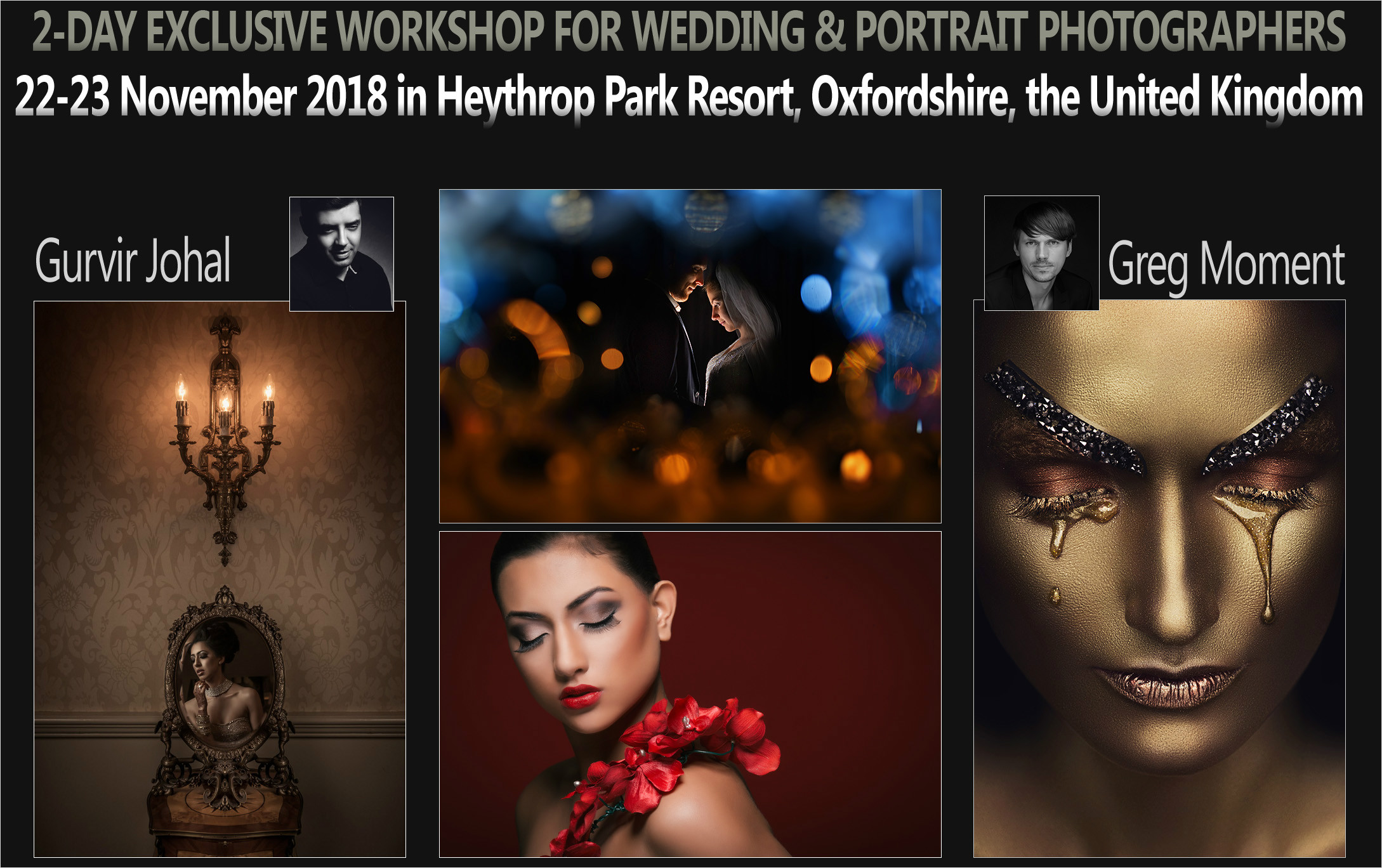Heythrop Park Resort, Oxfordshire, UK - 22/23.11.2018. with Gurvir Johal