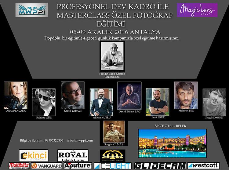 Antalya, Turkey 05/09.12.2016. SOLD OUT!