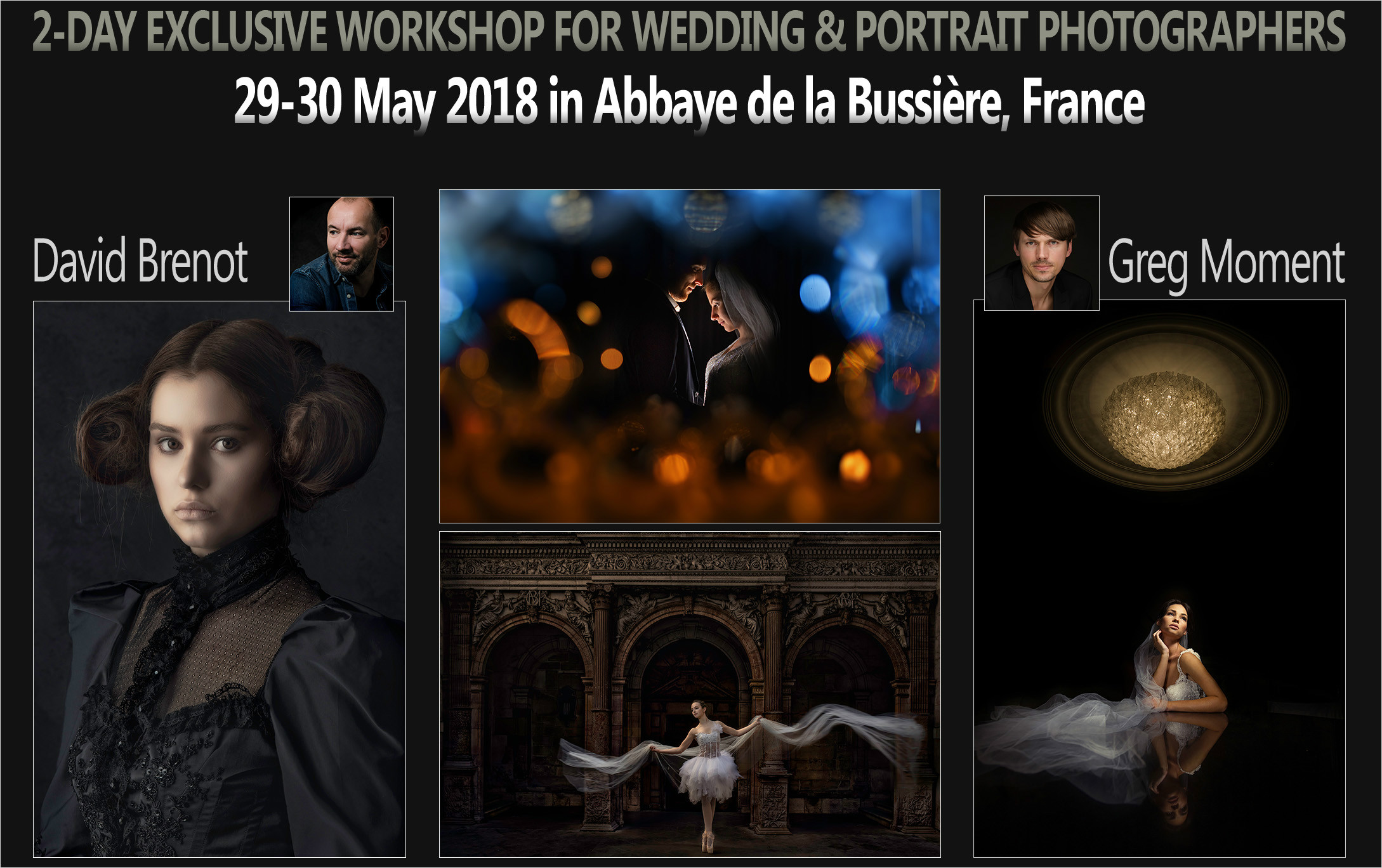 Abbaye de la Bussière, France - 29/30.05.2018. with David Brenot