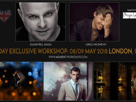 London, the United Kingdom - 08/09.05.2018. with Dumitrel Rada