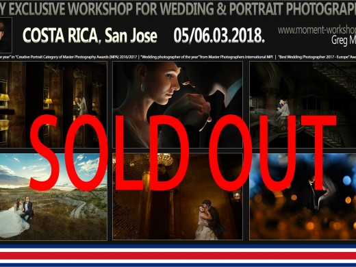 San Jose, Costa Rica 05/06.03.2018. SOLD OUT!