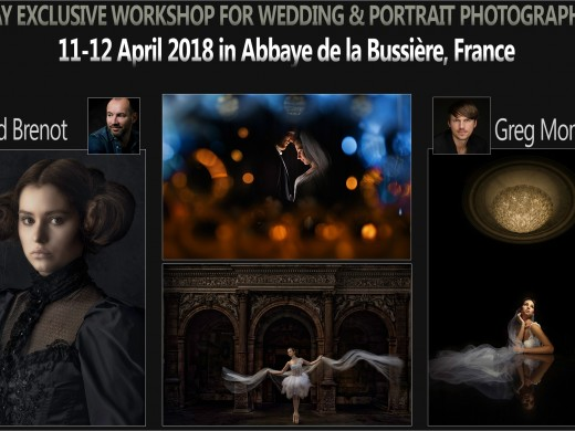 Abbaye de la Bussière, France - 11/12.04.2018. with David Brenot